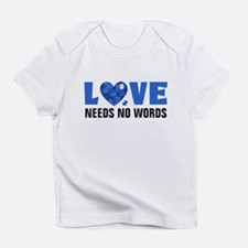 Autism LOVE No Words Infant T-Shirt