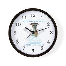 Iggy Angel Wall Clock