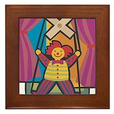 Puppetry Framed Tile
