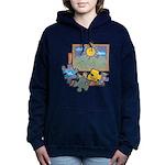 Jigsaw Puzzle Women's Hooded Sweatshirt