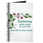 Gardening adds Years Journal