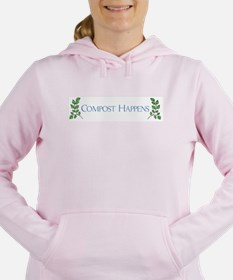 Compost Happens Women's Hooded Sweatshirt