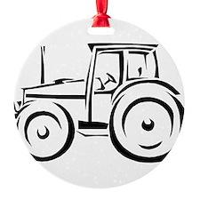 Farm Tractor Ornament