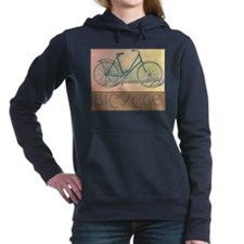 Bicycle Women's Hooded Sweatshirt