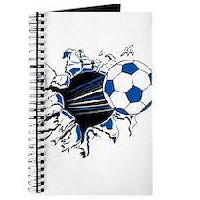 Soccer Ball Burst Journal