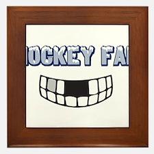 Hockey Fan Framed Tile