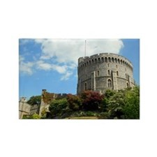 Windsor Castle Rectangle Magnet
