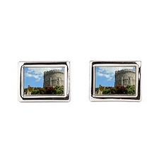 Windsor Castle Rectangular Cufflinks
