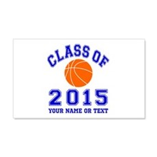 Class Of 2015 Basketball Wall Decal