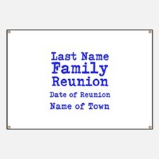 reunion banners design templates - family reunion banners signs vinyl banners banner
