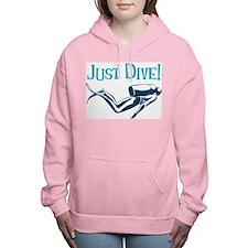 Just Dive Women's Hooded Sweatshirt