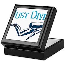 Just Dive Keepsake Box
