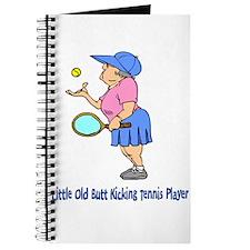 Butt Kicking Tennis Player Journal