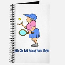 Butt Kicking Tennis Player Journal