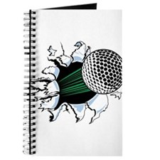 Golf Ball Burst Journal