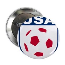 """USA soccer 2.25"""" Button (10 pack)"""