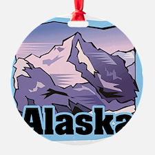 Alaska Mountains Ornament