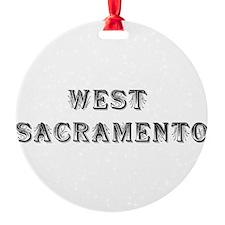 West Sacramento Ornament