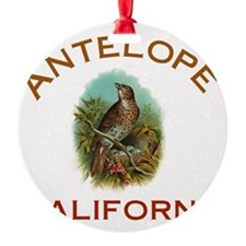 Antelope California Ornament