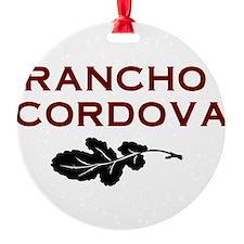 Rancho Cordova Ornament