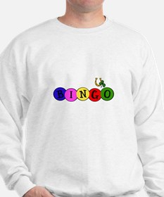 BINGO good luck shirt wt Sweatshirt