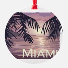 Miami Beach Ornament