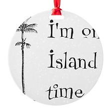 Island Time Ornament