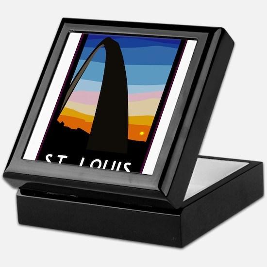 St. Louis Arch Keepsake Box