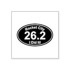 3-feetrocketpin Sticker