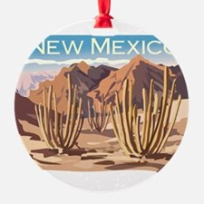 New Mexico Desert Ornament