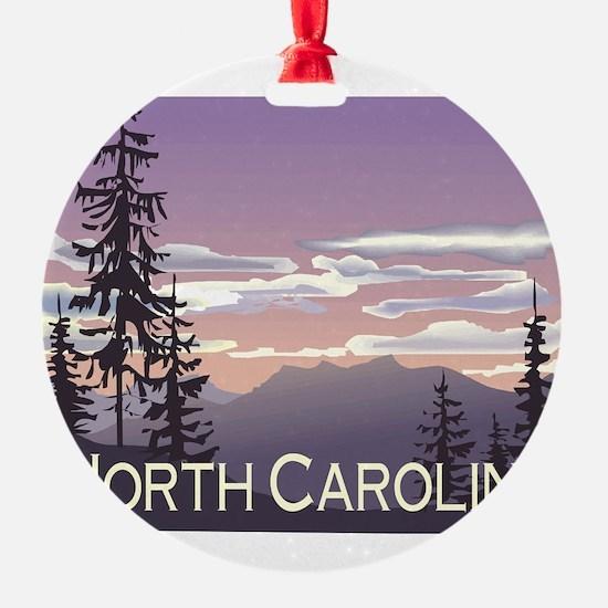 North Carolina Mountains Ornament