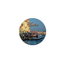 Venetian gondoliers Mini Button