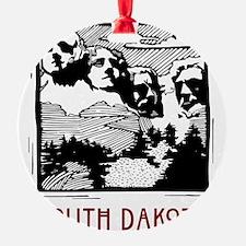 South Dakota Mount Rushmore Ornament
