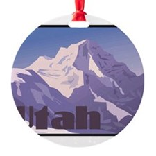Utah Mountains Ornament