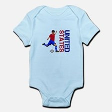 United States soccer Body Suit