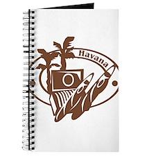 Havana Passport Stamp Journal