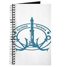 Genoa Passport Stamp Journal