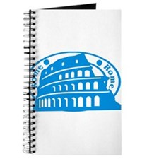 Rome Passport Stamp Journal