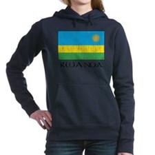 Rwanda Women's Hooded Sweatshirt