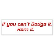 Dodge Ram Bumper Sticker