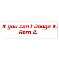 Dodge Ram Car Sticker