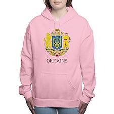 Coat of Arms of Ukraine Women's Hooded Sweatshirt