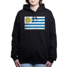 Uruguay Flag Women's Hooded Sweatshirt