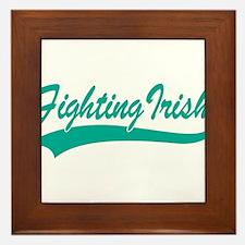 Fighting Irish Framed Tile