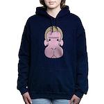 Monkey face Women's Hooded Sweatshirt