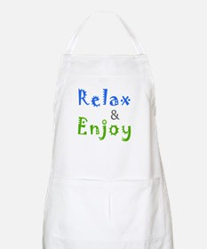 Relax and Enjoy Apron