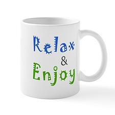 Relax and Enjoy Mug
