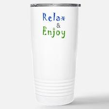 Relax and Enjoy Travel Mug