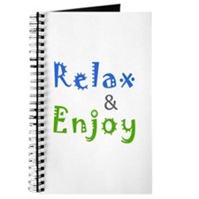 Relax and Enjoy Journal