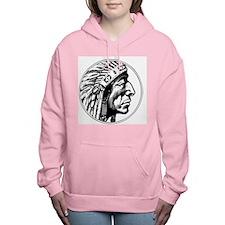 Indian Head Women's Hooded Sweatshirt